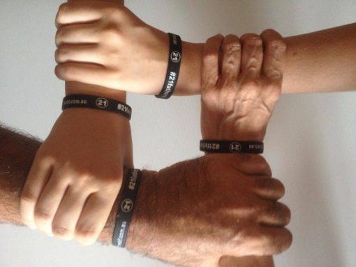 #21fathers Wristband