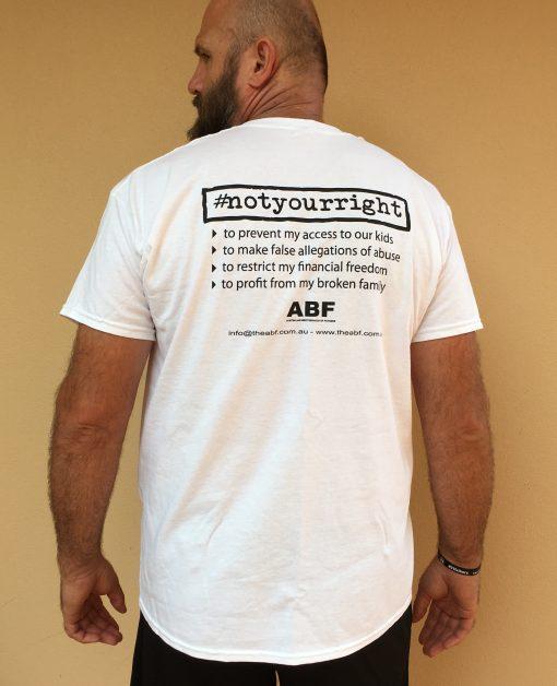 #notyourright T-Shirt