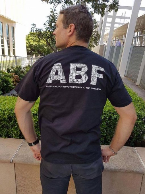 ABF Black Supporters T-Shirt