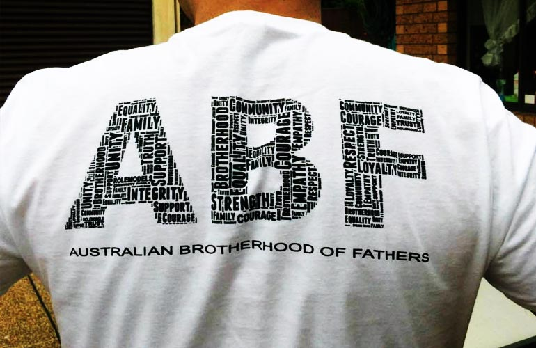 View the Australian Brotherhood of Fathers Online Store